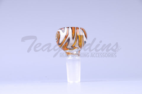 Reversal Worked Glass on glass 14 mm Bowl