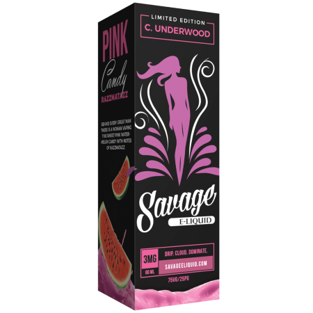 Savage Eliquid - C. Underwood (Watermelon Candy Raspberry)