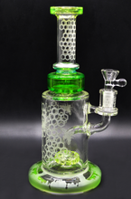 Load image into Gallery viewer, TGR - Dab Rig Beehive Slime 10""