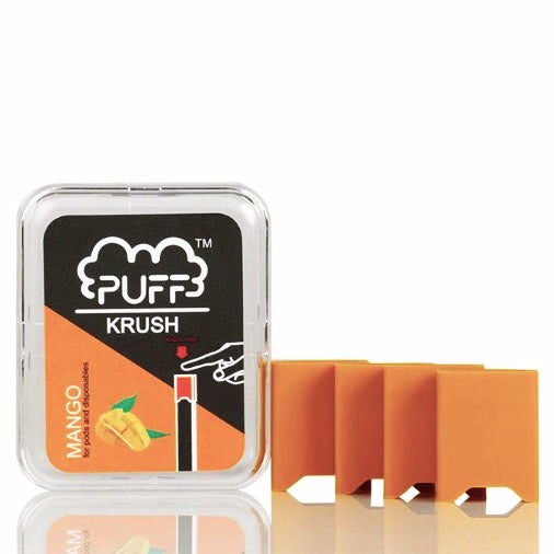 Puff Krush - Pre-Filled Silicone Add On Caps For Sale