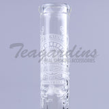 Sheldon Black Double Chamber Beaker Bottom Water Pipe