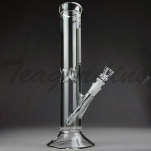 Sheldon Black Glass -  5mm Medio Straight Tube Water Pipe
