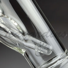 Load image into Gallery viewer, Sheldon Black Glass -  5mm Medio Straight Tube Water Pipe