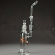 Load image into Gallery viewer, Sheldon Black Glass - Traveler Bubbler F14