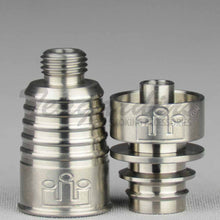 Load image into Gallery viewer, Silika Domeless Titanium D.I. Nail 14mm