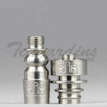 Load image into Gallery viewer, Silika Glass - 14mm  Domeless Titanium Nail