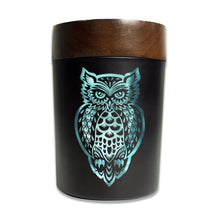 Load image into Gallery viewer, V-Syndicate - SmartStash Storage Grinder Owllusion Turquoise