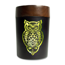 Load image into Gallery viewer, V-Syndicate - SmartStash Storage Grinder Owllusion Yellow