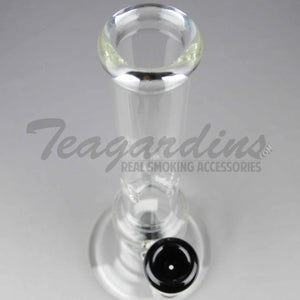 "Teagardins Glass - Stemless Straight Water Pipe - Black - 5mm Thickness / 12.5"" Height Teagardins Glass - Showerhead Percolator Stemless Straight Water Pipe - Black - 5mm Thickness / 12.5"" HeightTeagardins Glass - Showerhead Percolator Stemless Straight Water Pipe - Black - 5mm Thickness / 12.5"" Height"