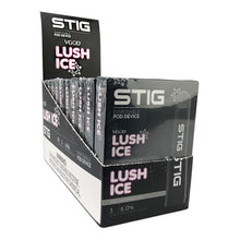 Load image into Gallery viewer, VGod Stig - Pod Disposable Device Lush Ice 1.2mL