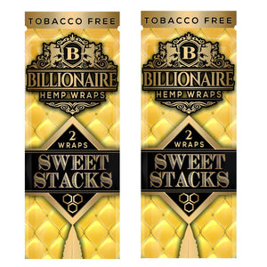 Billionaire - Hemp Wrap Sweet Stacks For Sale