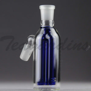 Teagardins Glass -  Fixed 3 Arm Tree Percolator Ash Catcher / Precooler 14mm Fitting