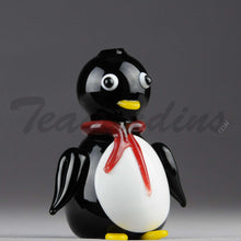 Load image into Gallery viewer, Teagardin's Glass - Penguin Glass Hand Pipe