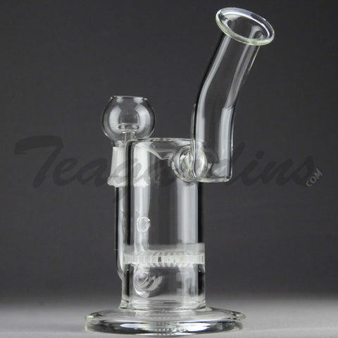 Teagardin's Glass - Stemless D.I. Bubbler with HD Percolator