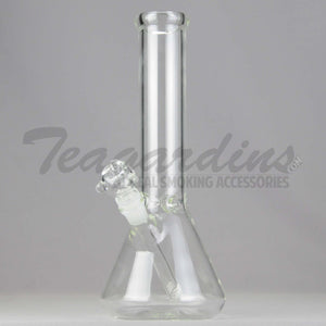"Teagardin's Glass - Beaker Water Pipe - 5mm Thickness / 12"" Height"