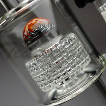"Load image into Gallery viewer, Teagardins Glass -  D.I. Bubbler- Double Matrix Percolator Stemless Dab Rig - Black - 5mm Thickness / 13"" HeightTeagardins Glass -  D.I. Bubbler- Double Matrix & Mini Matrix Percolator Stemless Dab Rig - Black - 5mm Thickness / 13"" Height"
