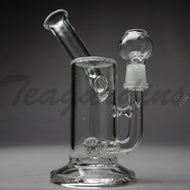 Teagardins Glass - Hammerhead Percolator Diffuser Stemless Sidecar Dab Rig - 5mm Thickness / 9
