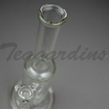 "Cheap Teagardins Glass - Inline Double Chamber Straight Water Pipe - 5mm Thickness / 13"" Height"