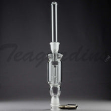 "Load image into Gallery viewer, Teagardins Glass - Honeystraw Nectar Collector - Diffuser Dab Rig - 4mm Thickness / 13.5"" Height"