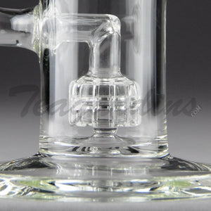Teagardins Glass - Stemless D.I. Bubbler Mini Matrix to Worked UFO Percolator