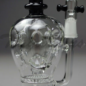 Teagardins Glass - The Rotten Apple Oil Rig Bubbler