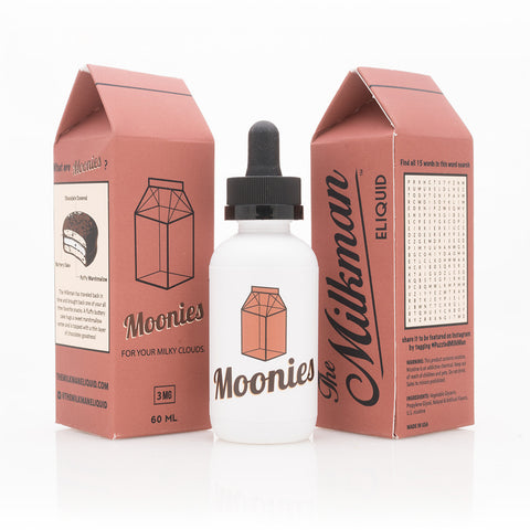 The Milkman - Moonies (Chocolate, Cake, Vanilla, Marshmallow)