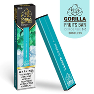 Gorilla Fruits Bar - Vape Bar Disposable Tobacco Menthol For Sale