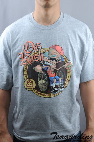 Top Shelf Apparel - Afghan Kush T-Shirt funny novelty cannabis marijuana clothing and tshirts