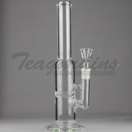 Teagardins Glass - Turbine Percolator Stemless Dab Rig - 5mm Thickness / 12
