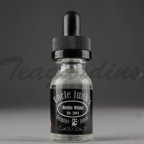 Uncle Junk's E-Juice 15ml. Betty White (Pomegranate Base with a Hint of Apple)