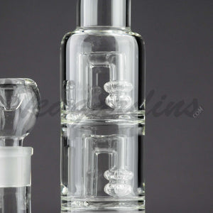 Teagardin's Glass - Stemless Tripple Chamber Water Pipe Cheap for Sale