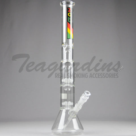 ZOB Triple Chamber Beaker Bottom Water Pipe