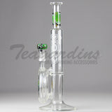 Zob Glass- Scientific Pipes Water Bongs Disc Percolator