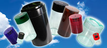 Load image into Gallery viewer,  Airtight Container - Airtight Storage - TightVac - TV1 - Minivac - Storage Container - 1.4oz - Black