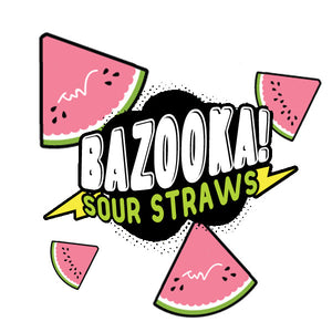 Bazooka E-Liquid - Sour Straws - Watermelon