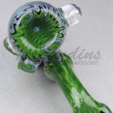 Cowboy Glass Fully Worked Reversal Art Sick pipes