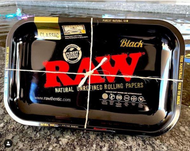 RAW - Rolling Tray Black