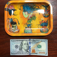 OCB - Rolling Tray Pacific Ring of Fire By Artist Sean Dietrich (Small)