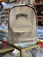 Backwoods - Backpack Book Bag White (Smell Proof)