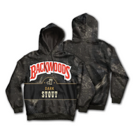 Backwoods Merch - Hoodie Dark Stout Black Sweatshirt