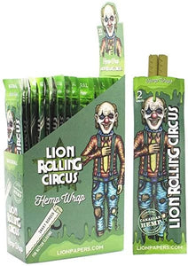Lion Rolling Circus - Hemp Wrap Natural