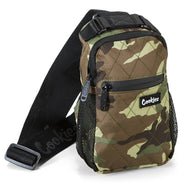 Cookies Bags - Noah Quilted Over The Shoulder Bag Camo