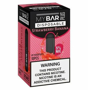 My Bar - Pod Plus Disposable Strawberry Banana