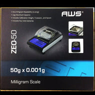 AWS - Digital Scale ZEO-50 American Weigh Scales Touch-Screen (50g x 0.001g)