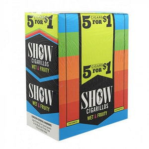 Show Cigarillos - Cigar Wet & Fruity For Sale