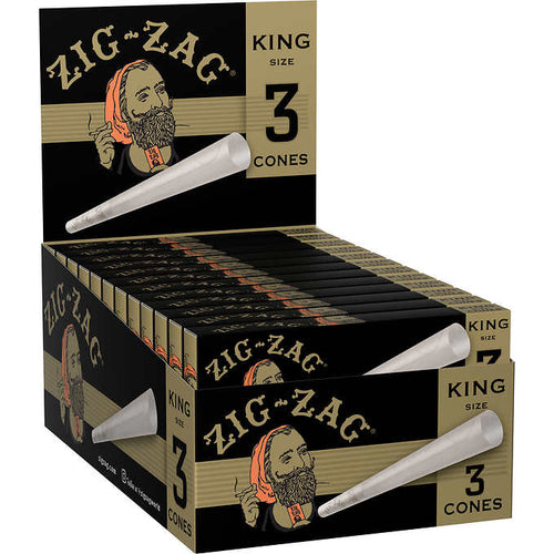 Zig Zag - Pre-Rolled King Size Paper Cones