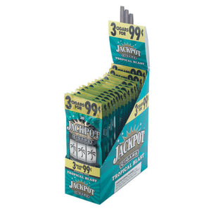 Jackpot Cigars - Blunt Wrap Cigar Cigarillos Tropical Blast For Sale