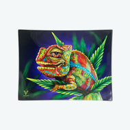 V-Syndicate - Glass Rolling Tray Cloud 9 Chameleon