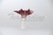 Load image into Gallery viewer, Salt Glass on Glass 14mm Bowl Smoking