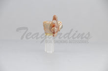 Load image into Gallery viewer, Salt Glass - Glass on Glass 14mm Bowl Smoking